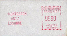 France 2.2 Montgeron maximum value 9990
